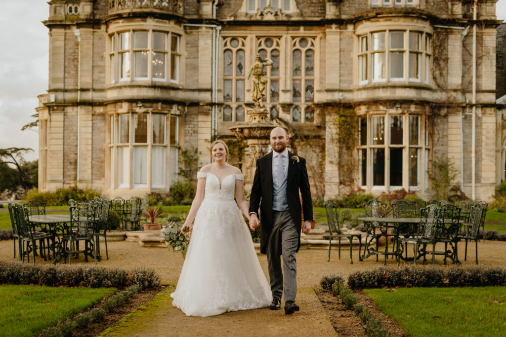 CLEVEDON HALL CHRISTMAS WEDDING PHOTOS
